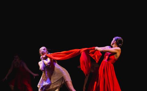 Viljandi tantsunädalal toimus Koolitantsu tantsulavastuste off-programm