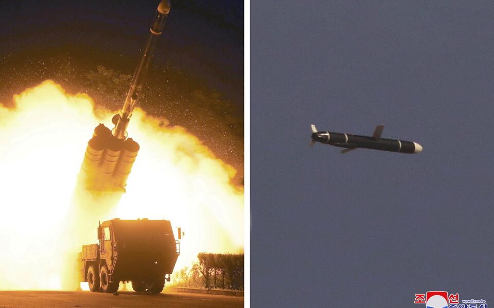 Испытание ракеты.