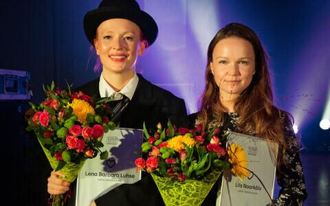 Aasta vanemuislase tiitli said draamanäitleja Lena Barbara Luhse ja personalijuht Liis Noorkõiv.