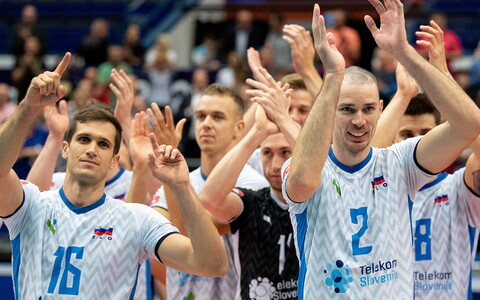 Sloveenia võrkpallikoondislased