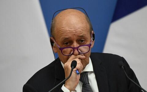 Министр иностранных дел Франции Жан-Ив Ле Дриан.