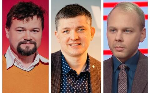 Krister Paris, Mirko Ojakivi and Urmas Jaagant.