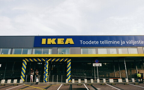 IKEA Tallinn, a concept featuring a limited showroom and online order pickup point, opened on Thursday. Aug. 29, 2019.