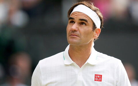 Roger Federer selle aasta Wimbledoni turniiril, mis jäi põlvevigastuse tõttu tema hooaja viimaseks.