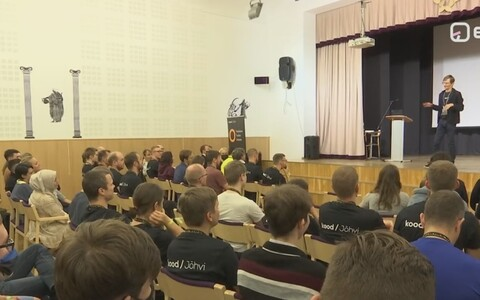 The first day of term at Kood/Jõhvi.
