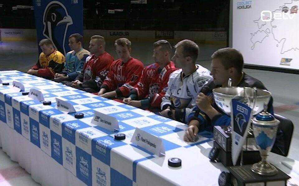 Eesti jäähokimängijad hooaja avaüritusel