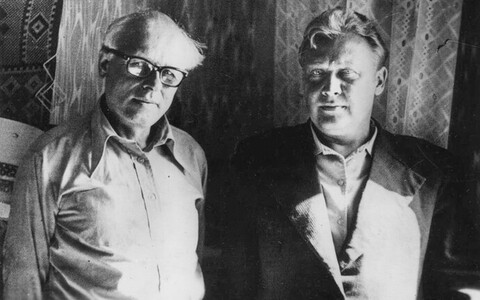 Dissidendid Andrei Sahharov (1921-1989) ja Enn Tarto (1938-2021).