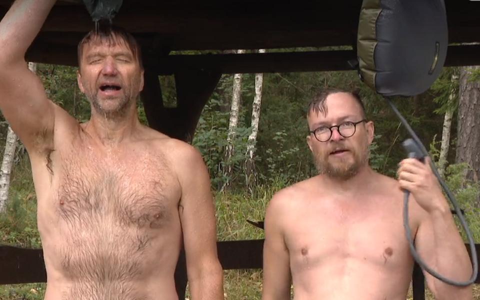 Hannes Hermaküla ja Jüri Muttika