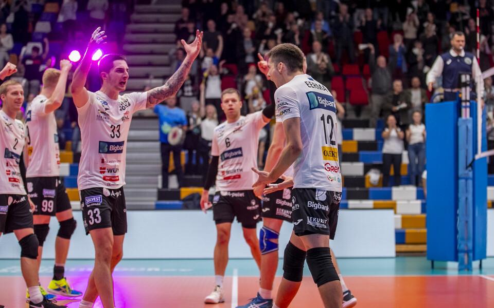 Võrkpalli Meistrite liiga kohtumine Tartu Bigbank -  Amriswili Lindaren Volley