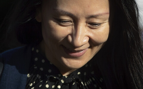 Финансовый директор китайской корпорации Huawei Мэн Ваньчжоу.