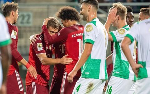 Müncheni Bayerni ja Greuter Fürthi kohtumine