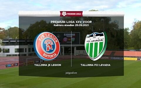 Tallinna JK Legion - Tallinna FCI Levadia