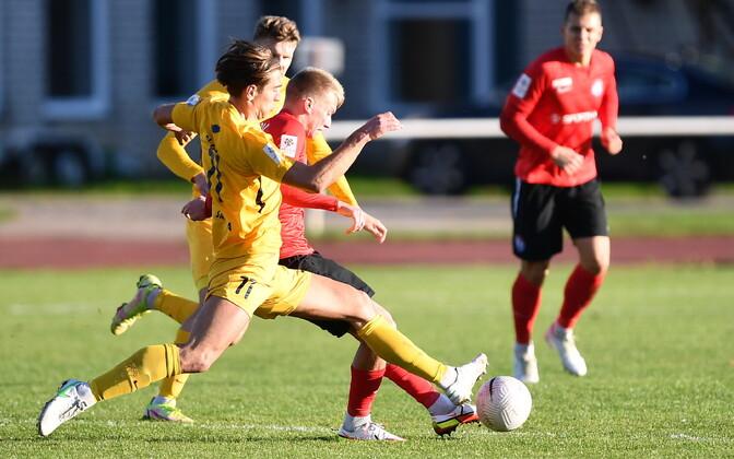 Premium liiga kohtumine Narva Trans - FC Kuressaare