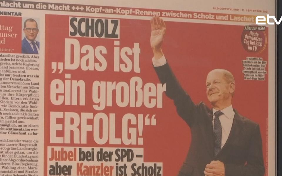 Выборы в Германии.
