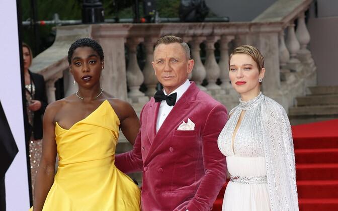 Lashana Lynch, Daniel Craig ja Lea Seydoux
