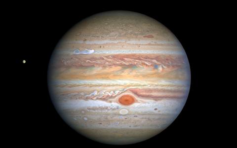 Planeet Jupiter.