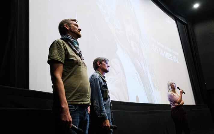 Anton Aleksejevi ja Kristjan Svirgsdeni dokumentaalfilmi esilinastus.