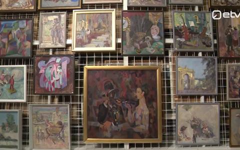 Tartu kunstimuuseumi teosed.