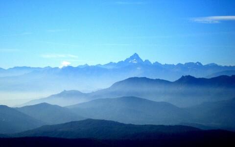 Itaalia Alpid.