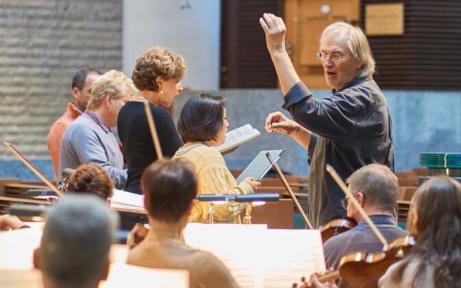 """Beethoveni """"Missa solemnis"""" proov"""