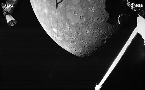 Euroopa Kosmoseagentuuri avaldatud pilt Merkuurist.