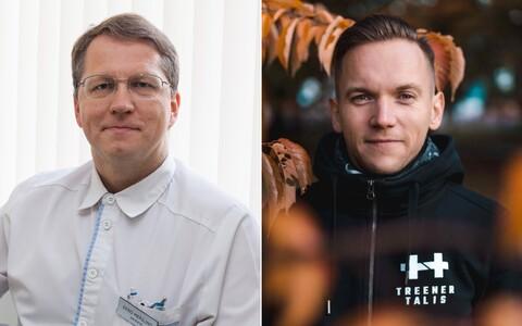 Eero Merilind ja Talis Tobreluts.