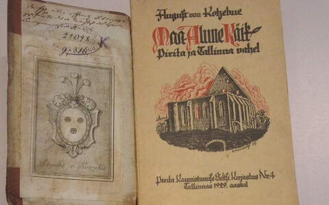 August von Kotzebue raamatud