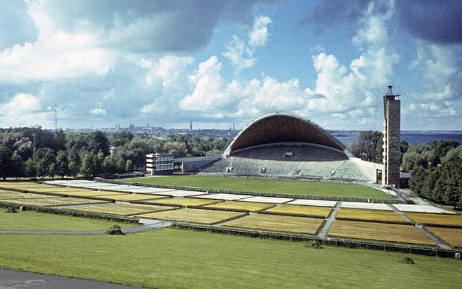 Tallinna Laululava (1960), Arhitektid Alar Kotli, Henno Sepmann