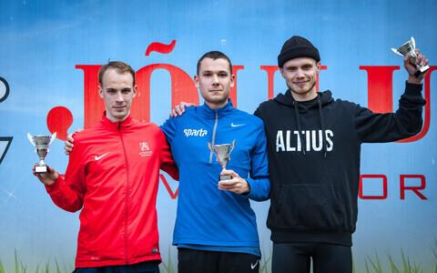 Juri Kovaljov (vasakul), Leonid Latsepov (keskel), Karl Mäe (paremal)