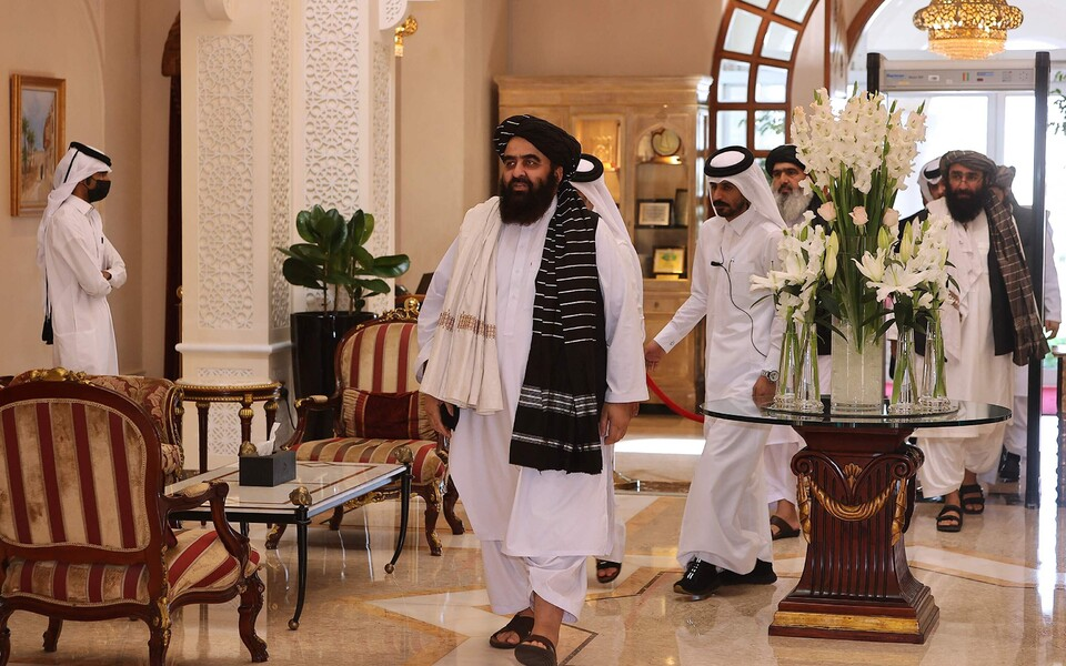 Назначенный талибами министр иностранных дел Афганистана Амир Хан Муттаки.