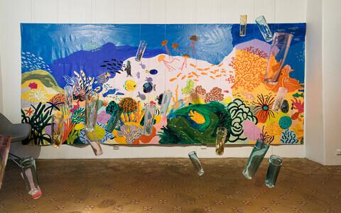 Hop galeriis Liisa Kruusmägi ja Maarja Mäemetsa näituse avamine