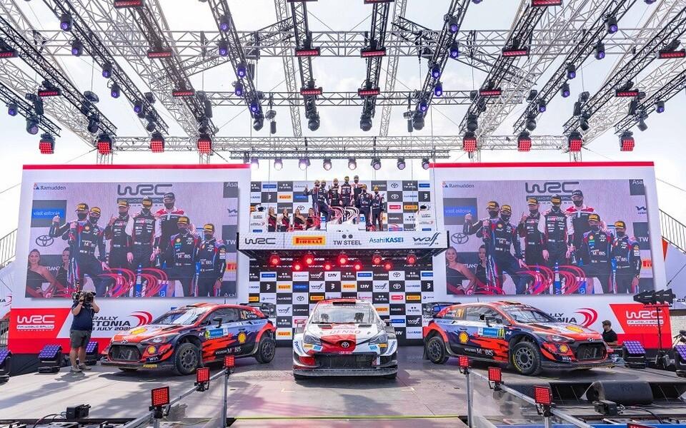 WRC Rally Estonia 2021 TOP3