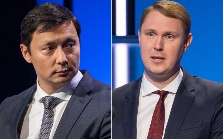 Mihhail Kõlvart ja Raimond Kaljulaid