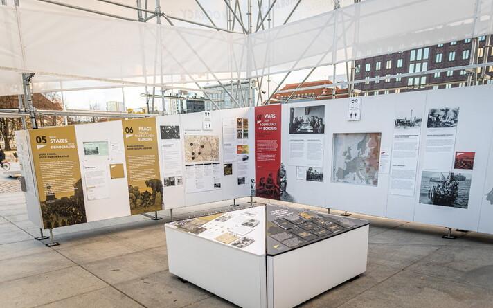Выставка будет открыта до 5 ноября.
