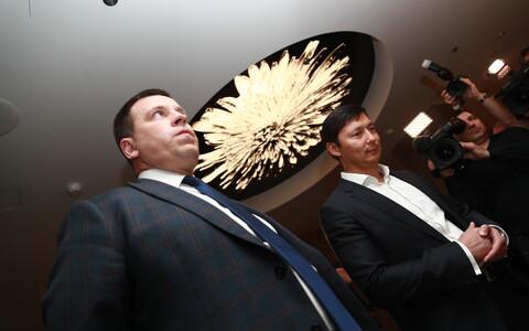 Keskerakonna valimispidu: Jüri Ratas ja Mihhail Kõlvart