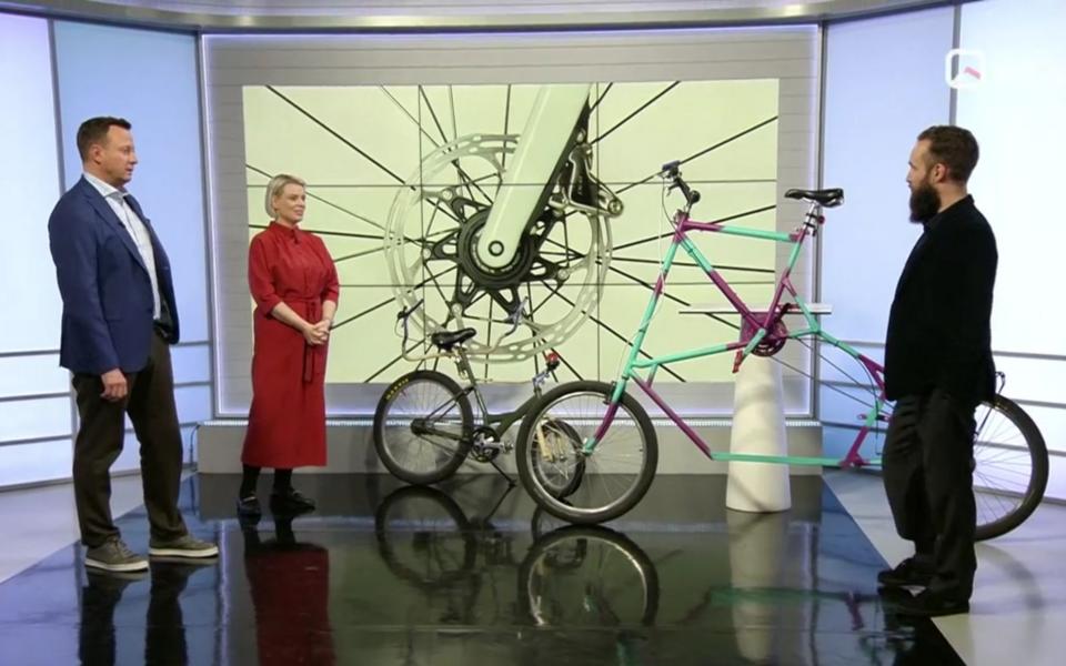 Aleksei Gornev ja veidrad jalgrattad.