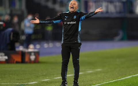 Marseille'i peatreener Jorge Sampaoli