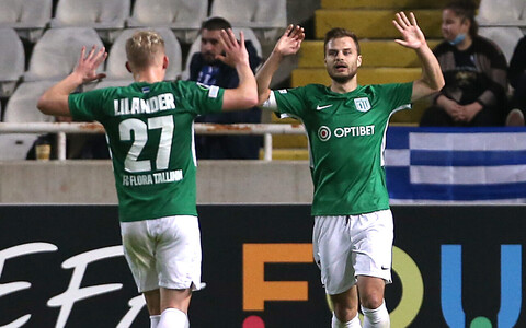 Rauno Sappinen kõi Küprose klubile kaks väravat.