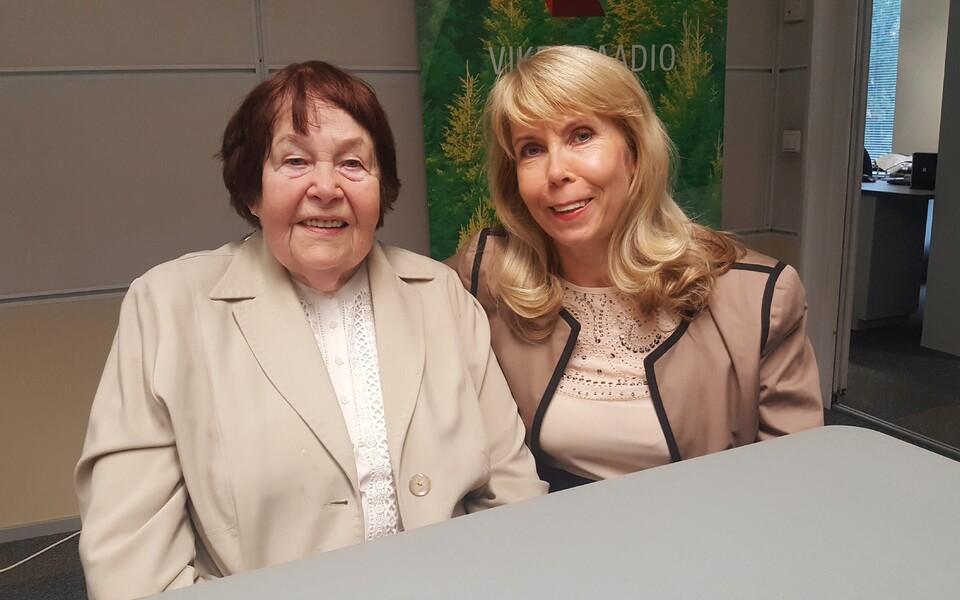 Marika Mikelsaar ja Margit Sutrop