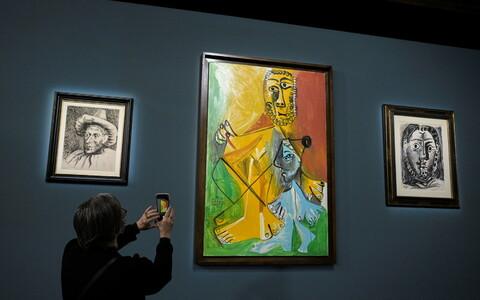 Pablo Picasso teosed, mis olid oksjonil.