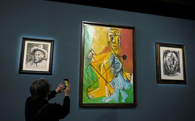 Произведения Пабло Пикассо, которые были выставлены на аукционе.