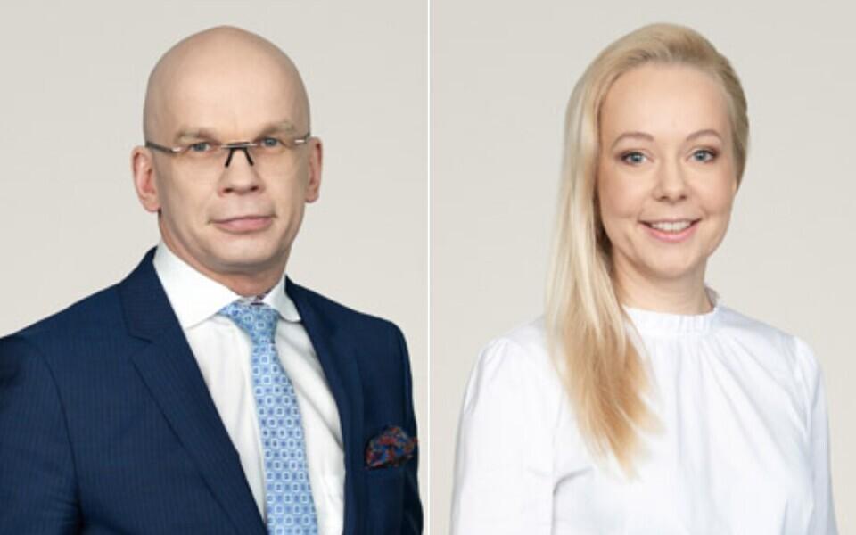 Аллар Йыкс и Пийбе Лехтсаар.