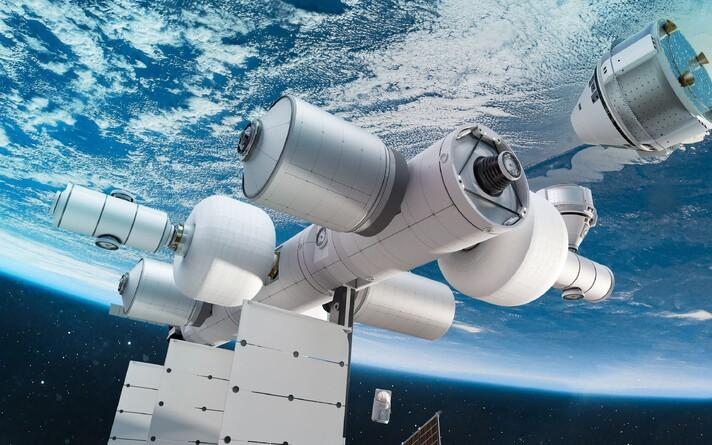 Иллюстрация планируемой космической станции.