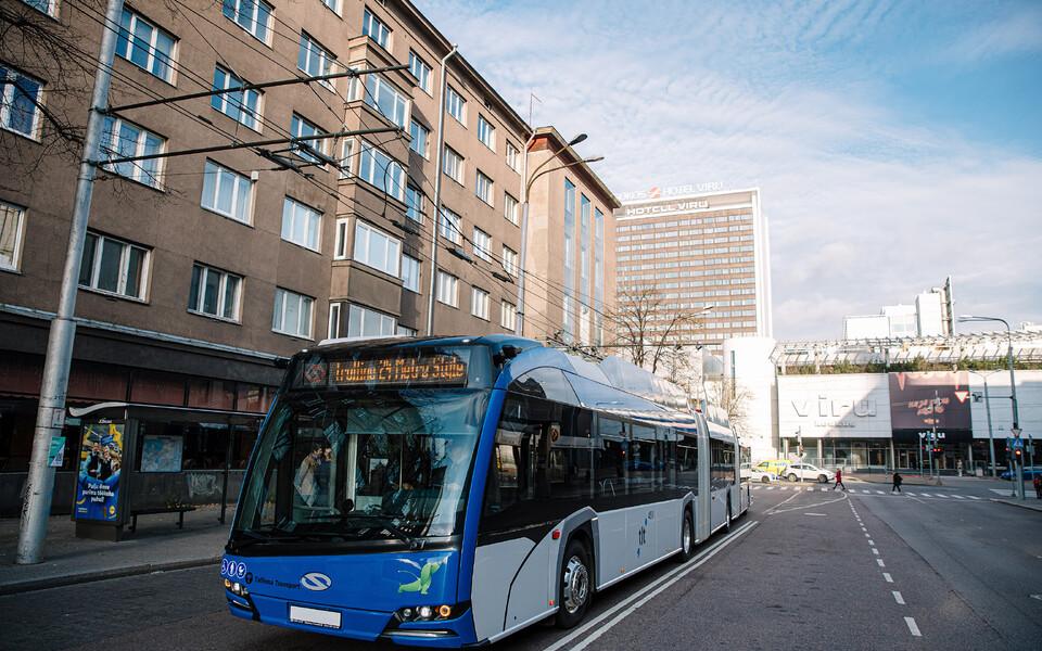 Новый троллейбус.